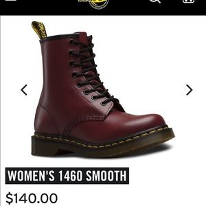Brand new dr cherry red dr martens